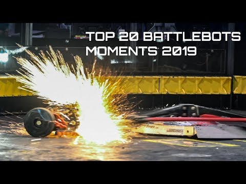 Top 20 Moments From Battlebots 2019