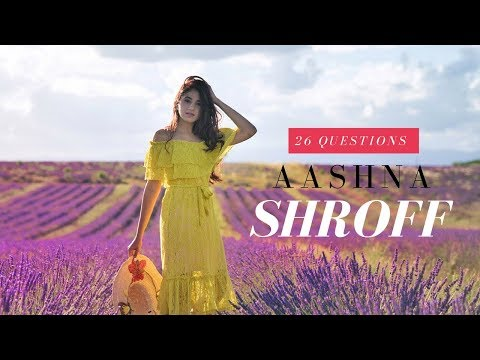 26 Questions With Aashna Shroff | Ep. 1 |The Snob Journal