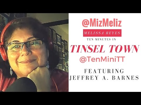 Ten Minutes in Tinsel Town with Author Jeffrey A Barnes @DrDisneyland