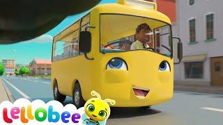 School Bus Song   Boo Boo Kids Nursery Rhymes & Kids Songs    Little Baby Bum
