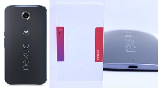 NEXUS 6 Midnight Blue - Unboxing - First Impressions
