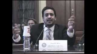 U.S. House of Representatives Testimony:  Persecution of Ahmadiyya Muslim Community in South Asia