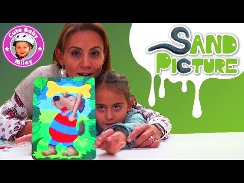Sand Picture Revell – Bilder malen mit Sand – DIY Sandmalerei – Kanal für Kinder