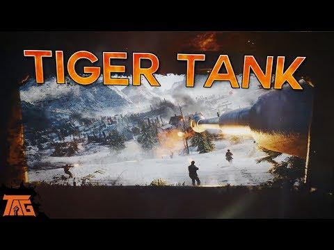 BATTLEFIELD 5 - Tiger Tank Multiplayer Gameplay