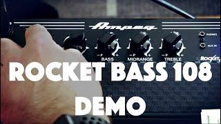 Ampeg Rocket Bass 108   DEMO