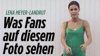 Die news des tages: - ist lena meyer-landrut schwanger?http://www.bild.de/unterhaltung/leute/lena-meyer-landrut/was-fans-auf-diesem-foto-sehen-52605610.bild....