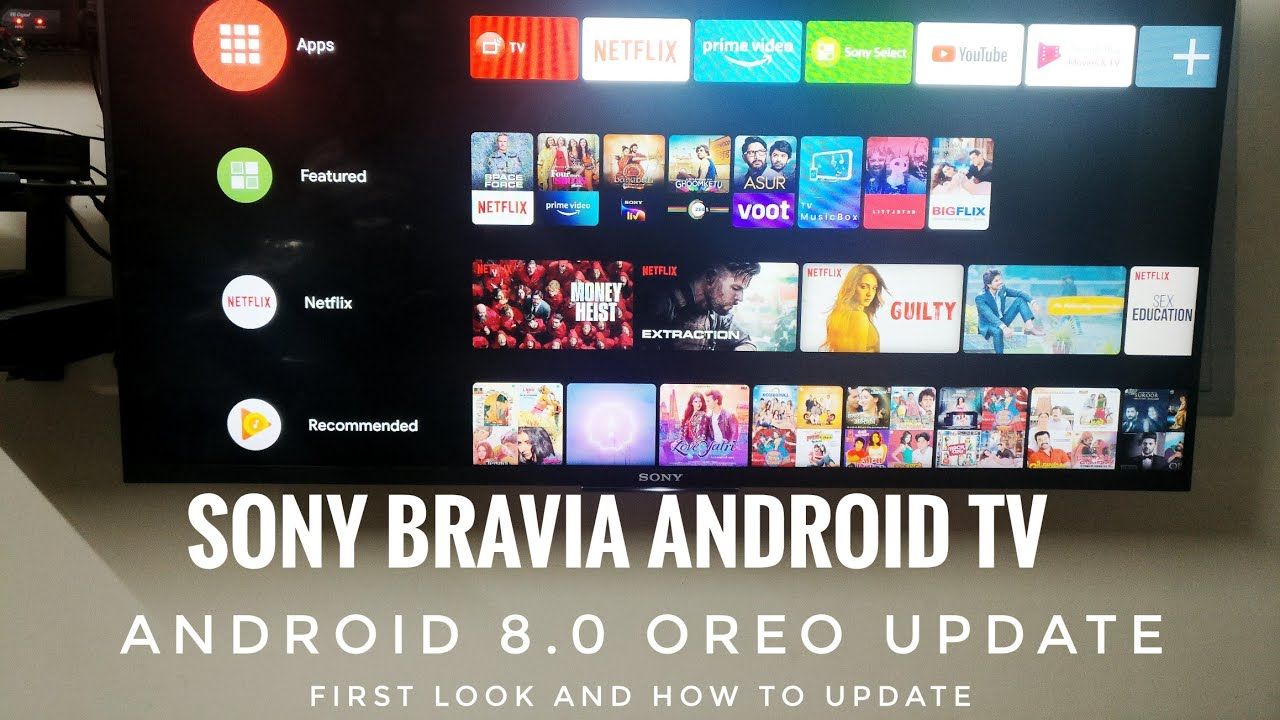 Android 8 Sony Tv