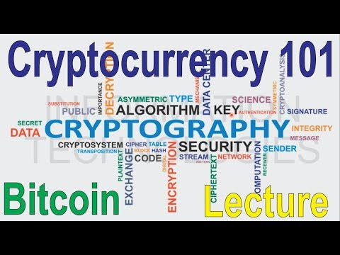 Cryptocurrency explained - bitcoin, blockchain, digital wall