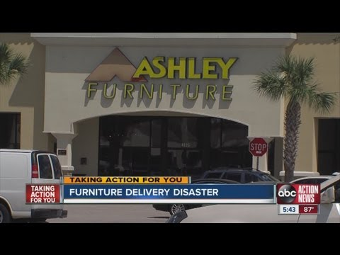 Ashley Furniture customer says store cost him a grand in repairs