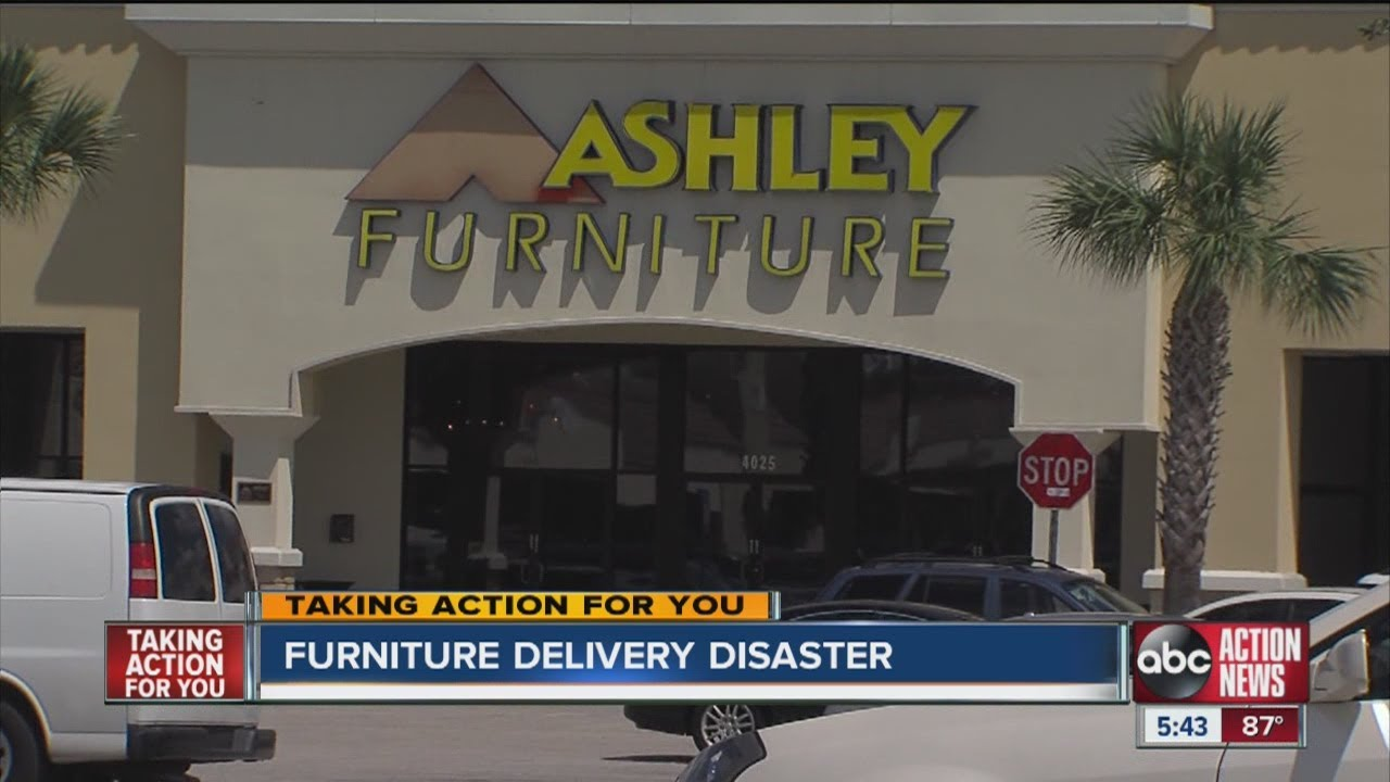 Ashley Furniture Customer Says Cost Him A Grand In Repairs