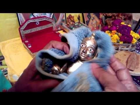 Krishna puja vidhi for janmashtami and daily krishna pu for Decoration kaise kare