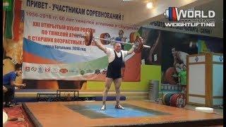 ЩЕКОТОВСКИЙ/SHCHEKOTOVSKIY (94,М-70) 80-86R-90R/101-110х-110х. Russian Masters Cup -2016