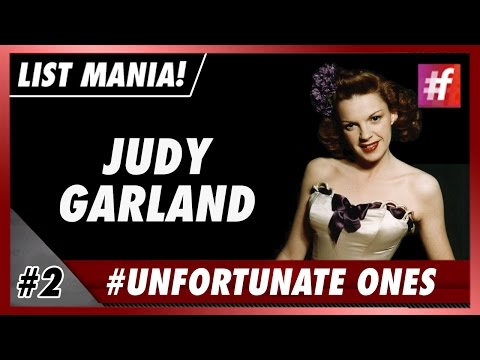#fame hollywood - Judy Garland - 5 Most Tragic Celeb Stories in History