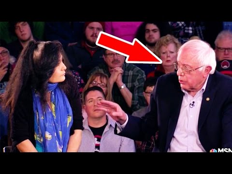 Watch Bernie Sanders Win Over a Trump Voter in Real Time (Video)