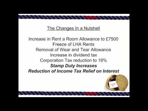 UK Landlord Tax in a Nutshell