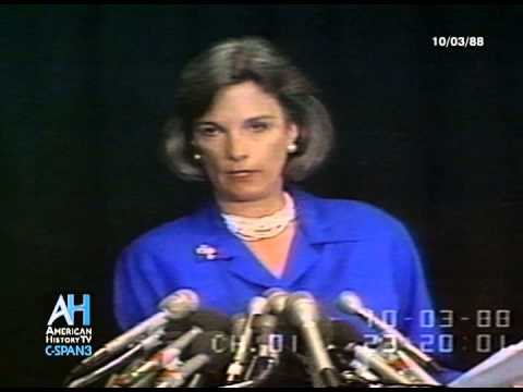 1988 - League of Women Voters End Sponsorship of Presidential Debates - Press Briefing