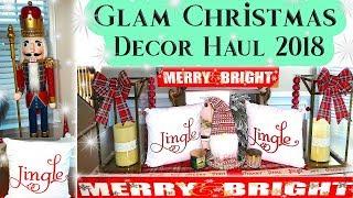 CHRISTMAS HOME DECOR HAUL 2018💎 🎅|GLAM DECOR MUST SEE!