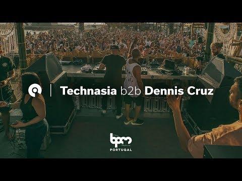 Technasia b2b Dennis Cruz @ The BPM Festival Portugal 2018 (BE-AT.TV)