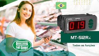MT-512Ri - Full Gauge Controls - Português