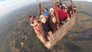 Hot Air Balloon Ride in Napa Valley - Shot with GoPro Extension Arm