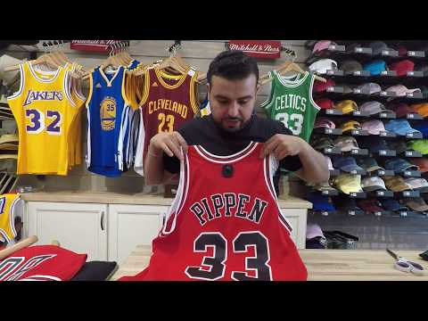 Scottie Pippen Mitchell & Ness Swingman Jersey