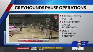 UIndy pauses men's basketball activities