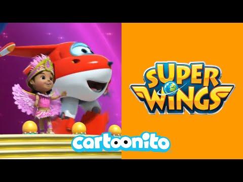 Super Wings | Samba Dance Class | Cartoonito