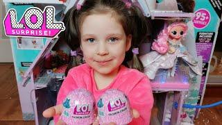 LOL Surprise Fashion Crush Милана открывает сюрпризы наряды для куколок ЛОЛ. Одежда для кукол в желе