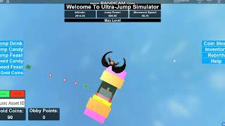 How to get speed very fast in Roblox Ultra-Jump Simulator