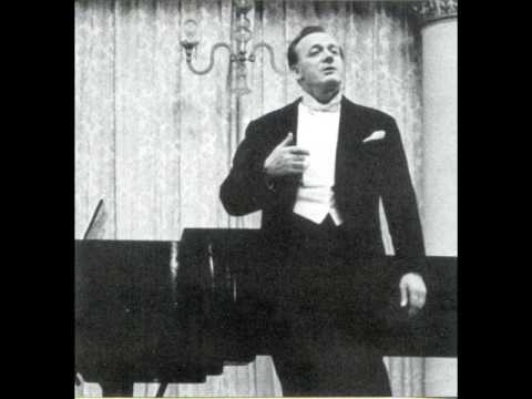 Sergei Lemeshev, The Song of  The Indian Guest, 1954 (live recording)