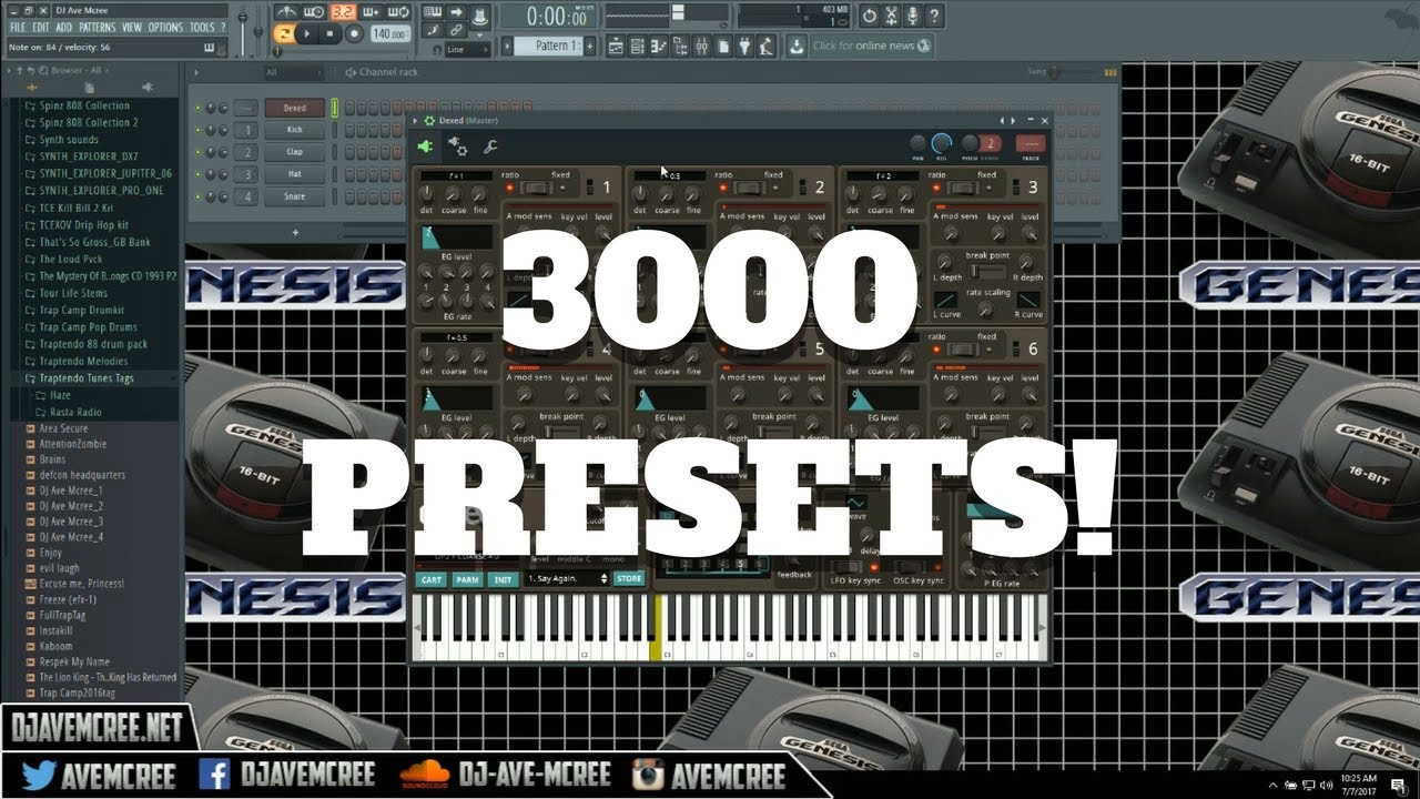 How To Load The 3000 Presets in Dexed
