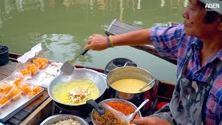 Thailand Street Food - Tha Kha Floating Market