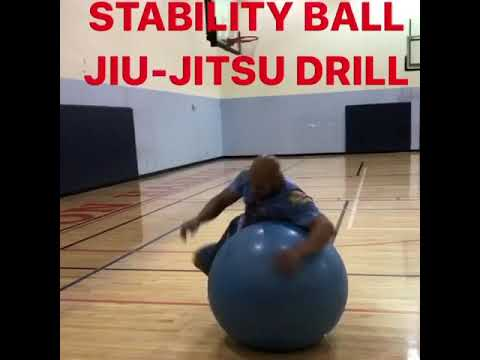 ‼️STABILITY BALL JIU-JITSU DRILL‼️