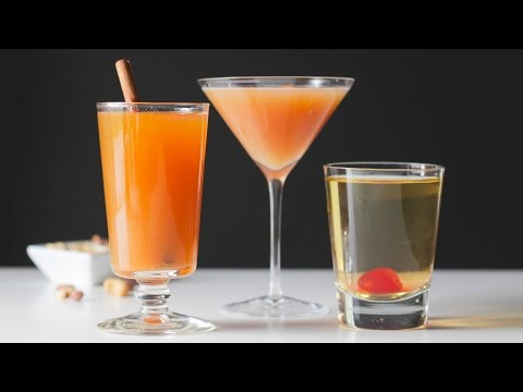 Three Fall-Themed Cocktails