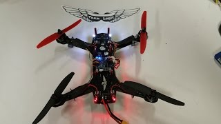Team Legit Mini Quad Complete Build Video of ZMR 250 With Overcraft PDB