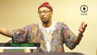 rich medina on his responsibility to college students at a3c festival