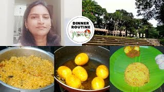 Indian Mom Dinner Routine || Vlog || How to Prepare Perfect Dinner || Simple Pulao Recipe