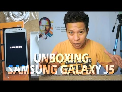 Unboxing Samsung Galaxy J5 Indonesia