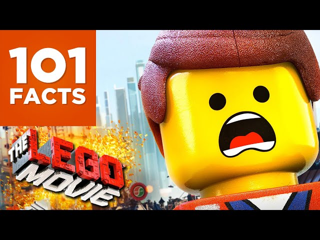 101 Facts About The Lego Movie