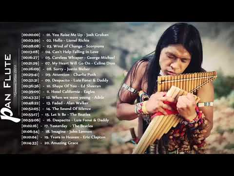 Leo Rojas Greatest Hits Cover || Pan Flute Covers Of Popular Songs 2018