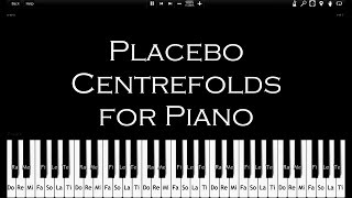 Placebo Centrefolds How To Play 100 Speed Synthesia Piano Tutorial