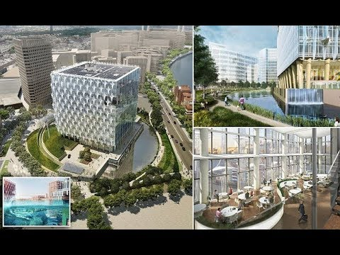 America's new $1billion embassy in London is the world's most expensive by a tiny moat