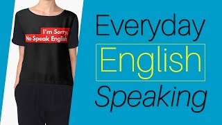English Dialogues - Everyday Conversation Speaking English Practice - Daily English