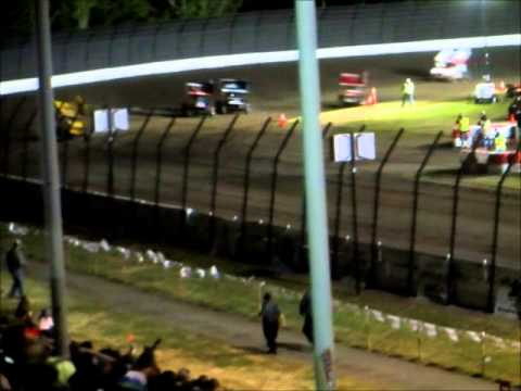 World of Outlaws Sprintcars  A Main @ Calistoga Speedway 4 11 15