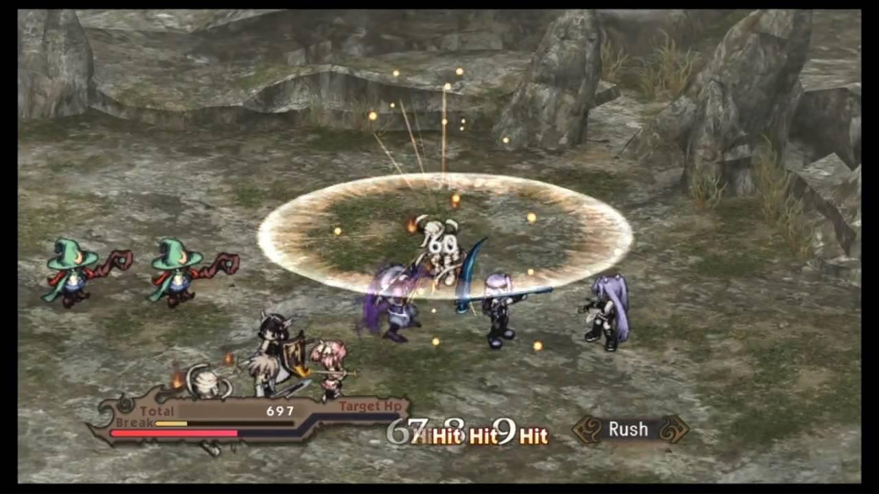 Agarest Senki Zero PS3-jogo em curso!