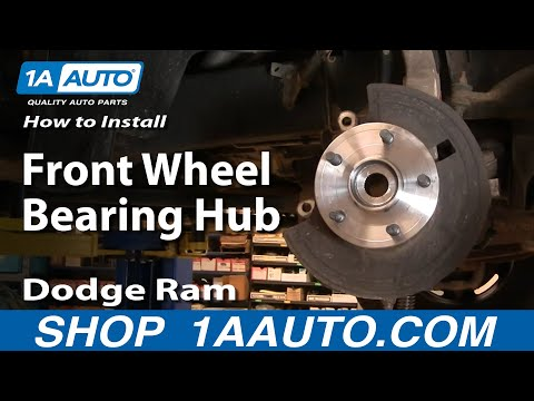 How To Replace Wheel Bearing Hub Assembly 02 08 Dodge Ram