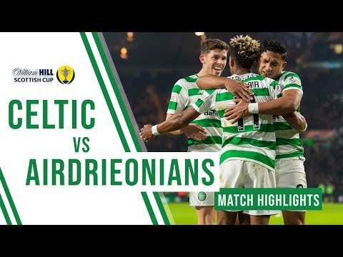 Celtic 3-0 Airdrieonians | Scotty's brace, Bain's saves & Weah's debut strike!