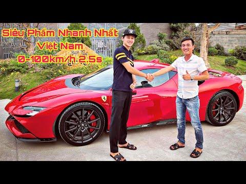 ĐẠI SIÊU PHẨM Ferrari SF90 Stradale ~1000 Mã Lực Lần Đầu Lăn Bánh Tại Việt Nam