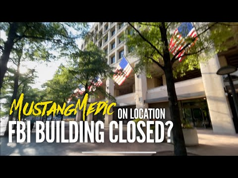 What's going on at the J Edgar Hoover FBI Building in Washington DC June 30, 2021