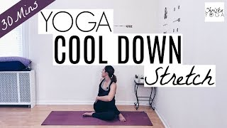 30 Min Yoga Cool Down Stretch for After A Workout | Post-Workout Cool Down | ChriskaYoga